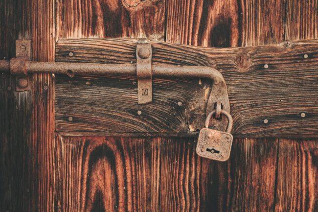 Locked door - copyright protection