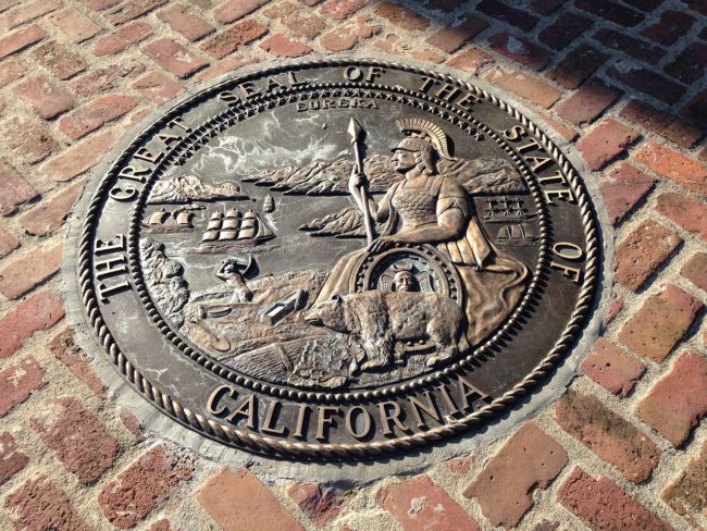California Seal - Intellectual Property in California