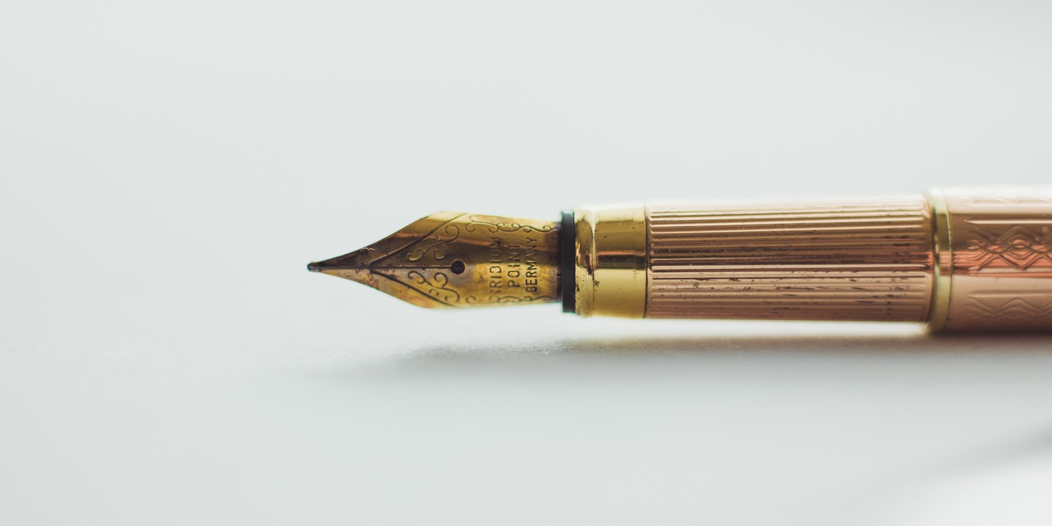 antique pen for WGA Writers