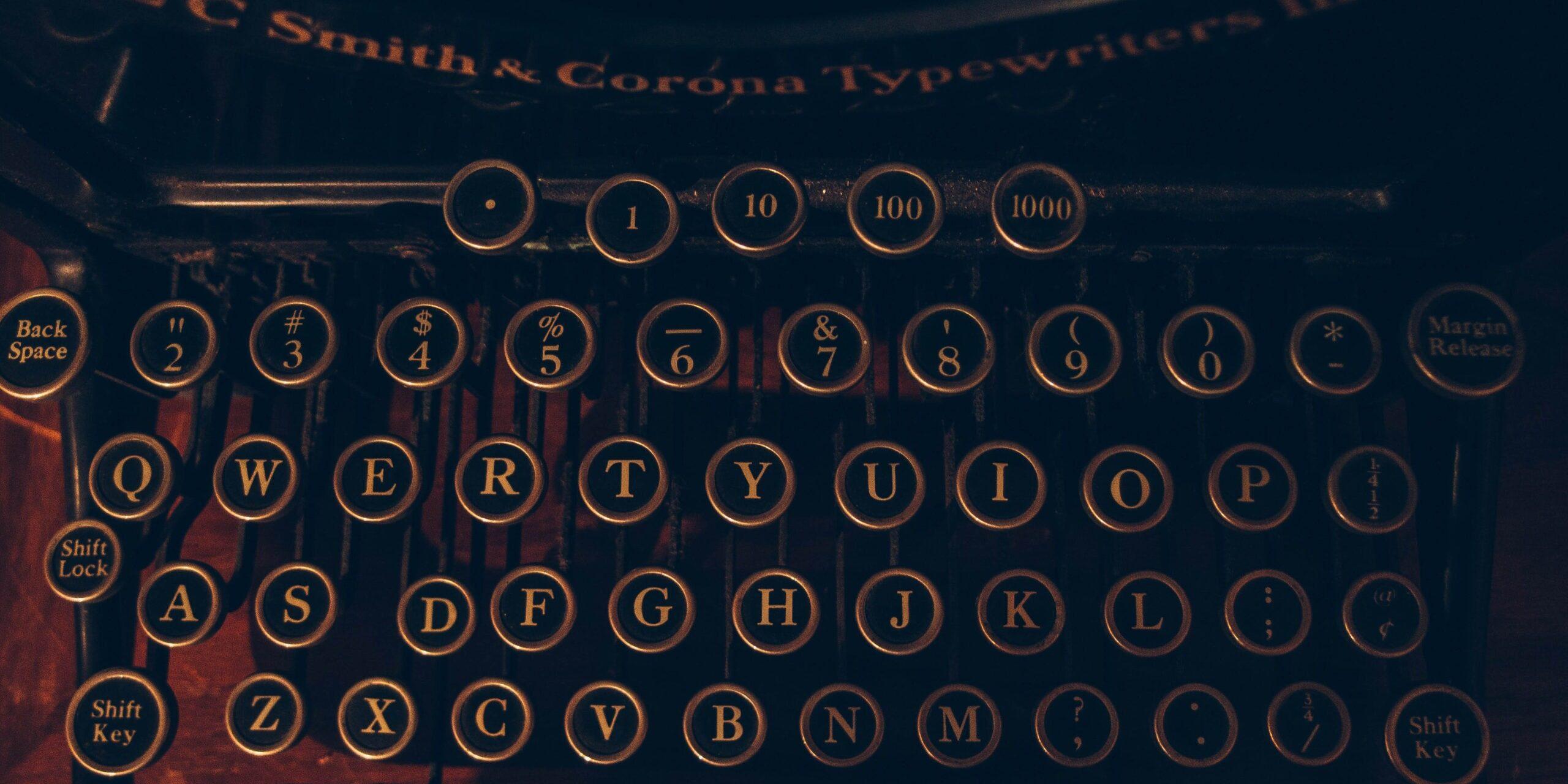 Writers Guild Typewriter